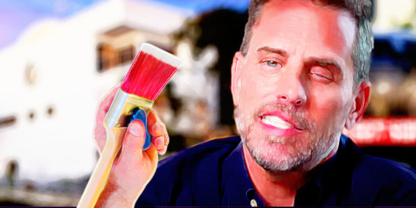 """Hunter Biden's """"Art"""" to Hit Market Up to $500,000 Per Piece. Buyers Will Be Kept Confidential. Sounds like a great way to buy favors from dad…"""