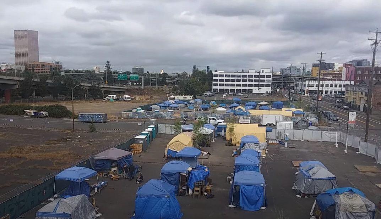 Anarchist Encampment Discovered by Portlander Near Federal Interstate Highway…