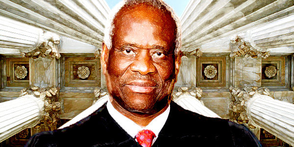 Clarence Thomas makes the case for regulating Twitter…