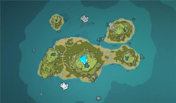 原神鸣声岛屿五个水池机关怎么破解,海岛水池机关解密攻略-第1张图片