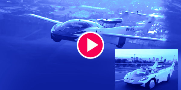 Flying car completes first intercity test flight in Slovakia…
