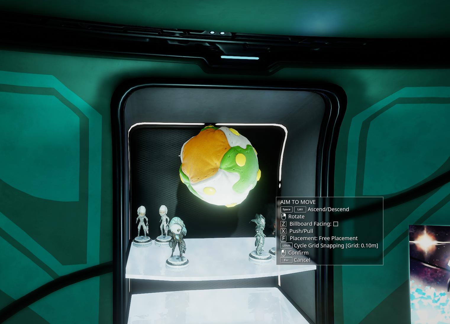 My floof fall outside of ship - PC Bugs - Warframe Forums