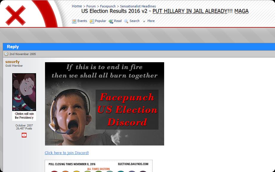 US Election Results 2016 v2 - P̲U̲T̲ ̲H̲I̲L̲L̲A̲R̲Y̲ ̲I̲N̲
