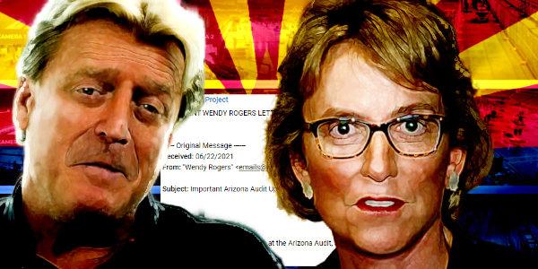 TELEGRAM THREAD Via Patrick Byrne: Important Arizona Audit Update From State Senator, Wendy Rogers, Sent Through Email…