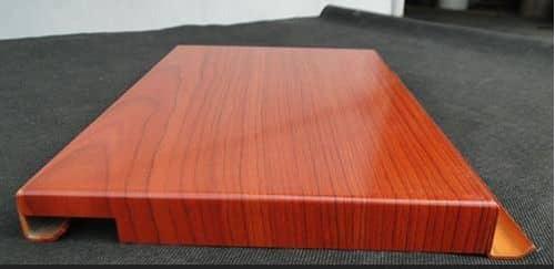广西木纹勾搭式铝单板