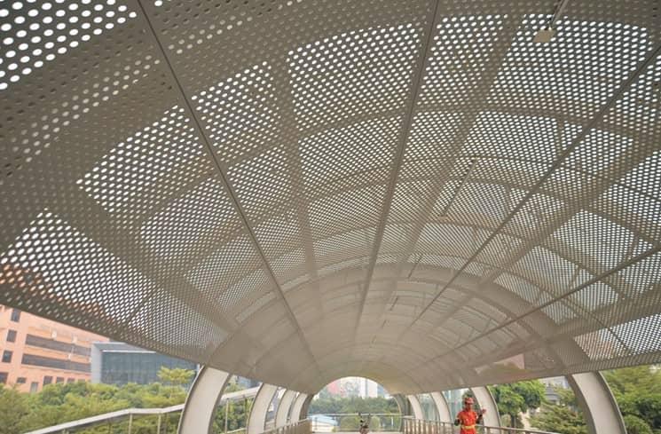 广西冲孔铝单板