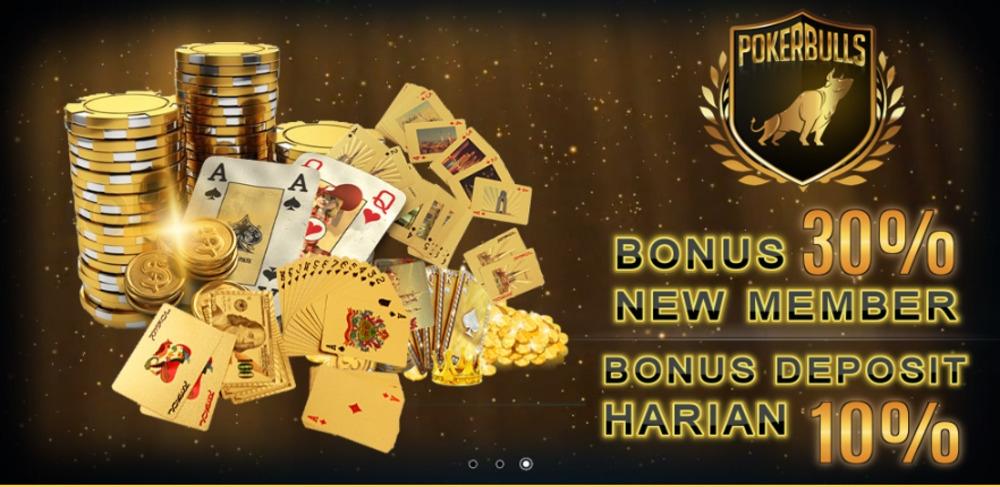 POKERBULLS Situs Agen Poker Online Terpercaya Bonus Terbesar