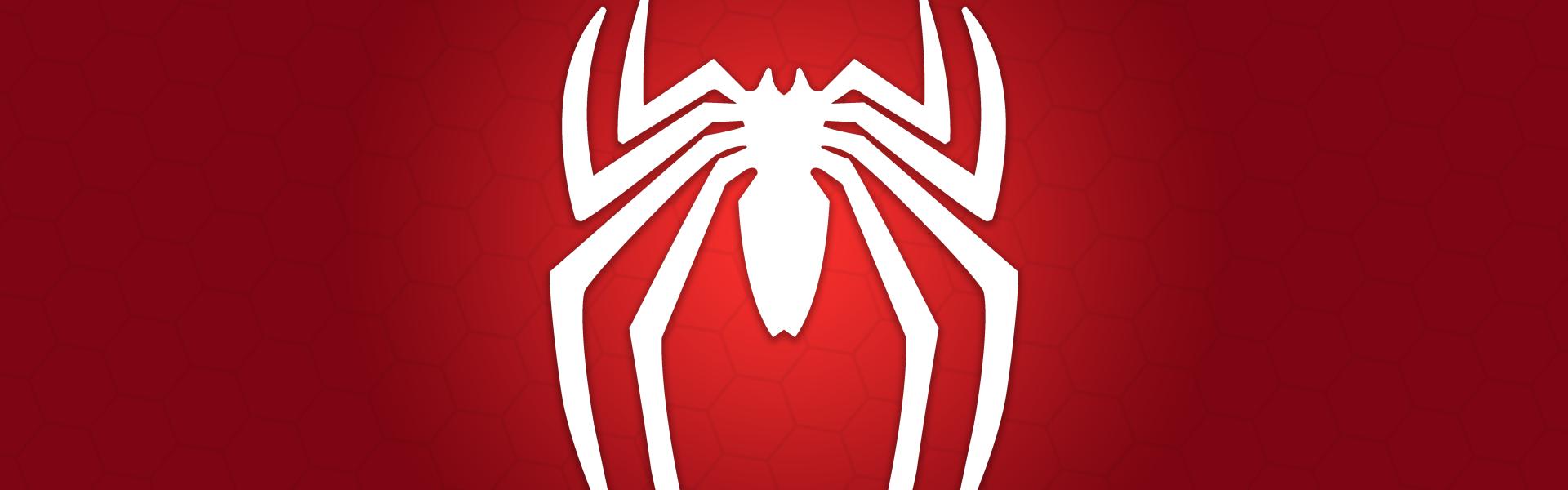 Spider-Man spider symbol banner : PS4Banners