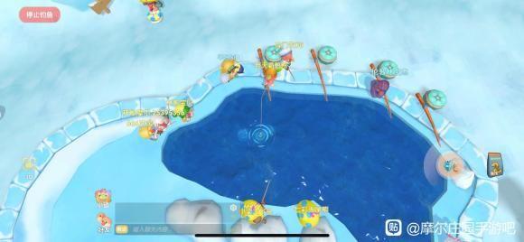 摩尔庄园手游超神钓白白鲸攻略,秒钓传说鱼技巧-第3张图片