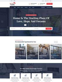 Real Estate Information Information Platform HTML Template