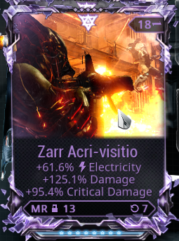 WTS Zarr Riven - PC: Trading Post - Warframe Forums