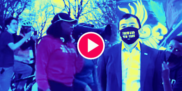 Virtue Signaling Andrew Yang Got Kicked Out of BLM Protest: 'You're Not Wanted Here'…
