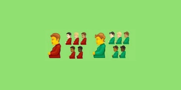 Pregnant man and gender neutral pregnant person emojis approved for smartphone use…